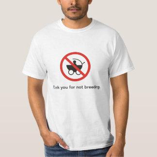chemise d'antinatalism t-shirt