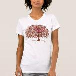 Chemise d'arbre d'amour t-shirt