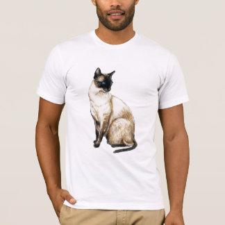"""Chemise d'art """"de chat siamois"""" t-shirt"""