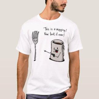 Chemise d'attaque à main armée t-shirt