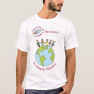 """Chemise de """"aucuns enfants affamés"""" de Katie T-shirt"""