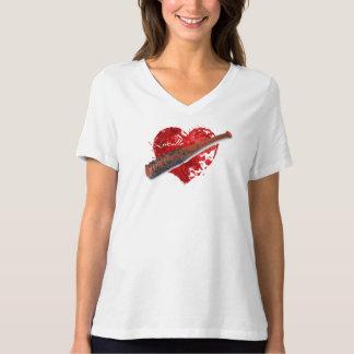 Chemise de batte de Lucille des femmes T-shirt