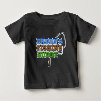 Chemise de bébé d'ami de la pêche du papa t-shirt pour bébé