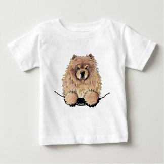 Chemise de bébé de bouffe de bouffe de cannelle t-shirt pour bébé