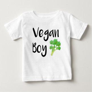 """Chemise de bébé de brocoli """"de garçon végétalien"""" t-shirt pour bébé"""