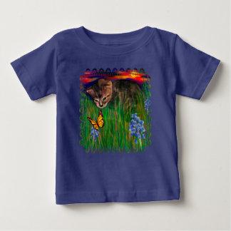 Chemise de bébé de découverte de nature de coucher t-shirt