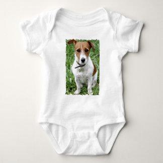 Chemise de bébé de Jack Russell Terrier Body