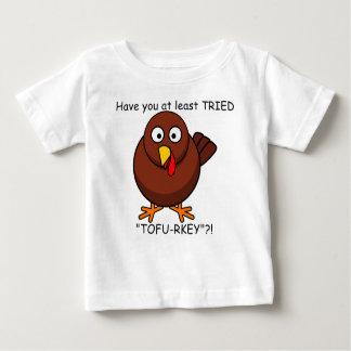 Chemise de bébé de la Turquie de Tofu-rkey T-shirt Pour Bébé