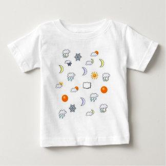 Chemise de bébé de temps t-shirt