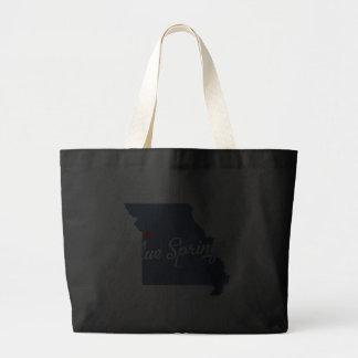 Chemise de Blue Springs Missouri MOIS Sacs En Toile