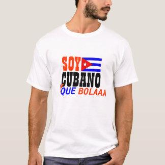 Chemise de Bolaaa de que du soja CUBANO y T-shirt