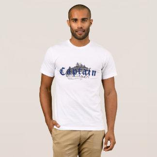 """Chemise de """"capitaine"""" pour les hommes t-shirt"""