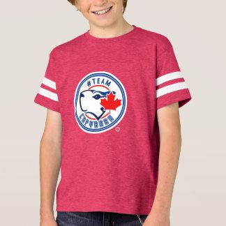 Chemise de Capybara d'équipe d'enfants T-shirt