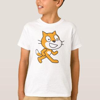 Chemise de chat d'éraflure (enfants) t-shirt