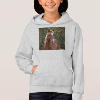 Chemise de cheval de filles