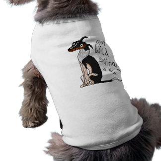 """Chemise de chien """"d'animal sauvage d'AM"""" T-shirt Pour Chien"""