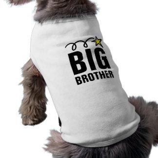 Chemise de chien de frère t-shirt pour chien