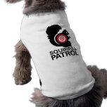 Chemise de chien de patrouille d'écureuil manteau pour animal domestique