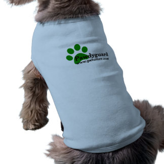 Chemise de chien de Pawdyguard (garde du corps de T-shirt