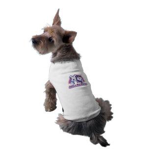 Chemise de chien de salon de l'animal familier de t-shirt pour chien