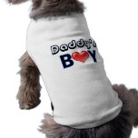Chemise de chien du garçon du papa manteau pour animal domestique