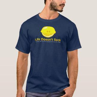 Chemise de citron de bleu marine - hommes t-shirt