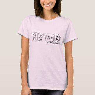 """Chemise de """"club de combat"""" d'équilibre de t-shirt"""