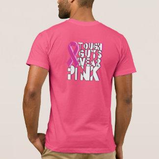 Chemise de conscience de cancer du sein de gars t-shirt