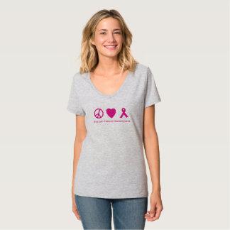 Chemise de conscience de cancer du sein d'espoir t-shirt