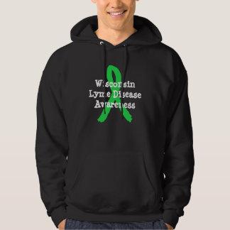 Chemise de conscience de la maladie de Lyme pour Veste À Capuche