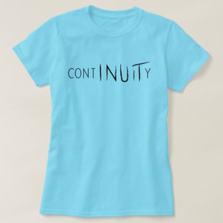 Chemise de continuité cyan t-shirt