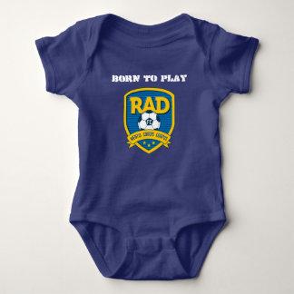 Chemise de corps de bébé de rad t-shirt