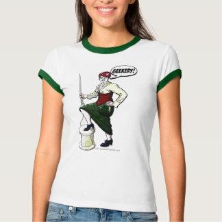 Chemise de couture de héros d'Evelyn T-shirt
