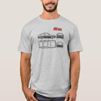 chemise de croquis de mise au point de Toyota T-shirt