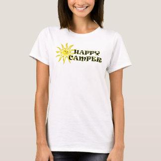 Chemise de dames de profondément satisfait de t-shirt