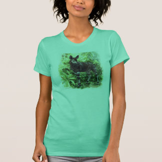 Chemise de dames d'okapi de jungle t-shirt