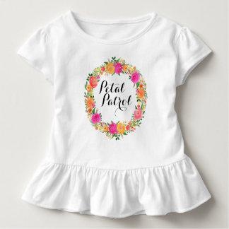 Chemise de demoiselle de honneur de pièce en t de t-shirt pour les tous petits