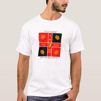"""chemise de dillon, RÉGIMENT de DILLON, """"OIES T-shirt"""