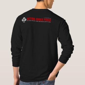 Chemise de douille de l'AJP des hommes longue T-shirt
