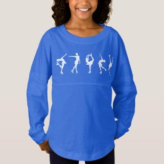 Chemise de douille de patineurs artistiques de maillot