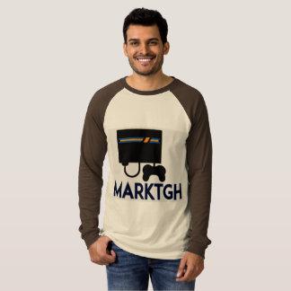 Chemise de douille d'hommes de MarkTGH longue T-shirt