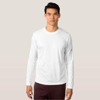 Chemise de douille du nouvel équilibre des hommes t-shirt