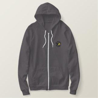 Chemise de drapeau d'AnCap Sweat-shirt Molletonné Brodé