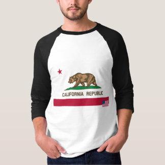 Chemise de drapeau de la Californie T-shirt