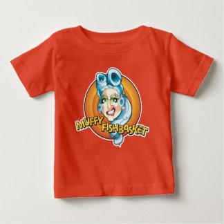 Chemise de fan d'enfant de Muffy Fishbasket T-shirt Pour Bébé