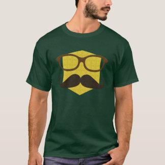 Chemise de fête d'anniversaire d'Emoji de hippie T-shirt