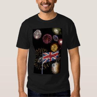Chemise de feux d'artifice de nuit de Guy Fawkes T-shirts