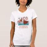 Chemise de flamenco de flamant t-shirts