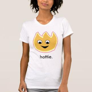 Chemise de flamme de Hottie T-shirts