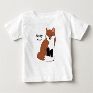 Chemise de Fox de bébé T-shirts